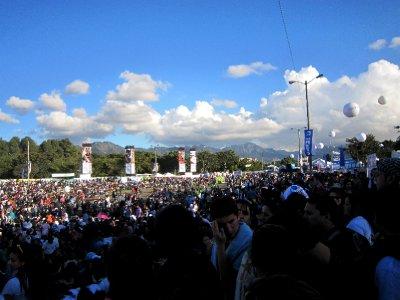 The alcohol-free Shakira pop festival, Bogota