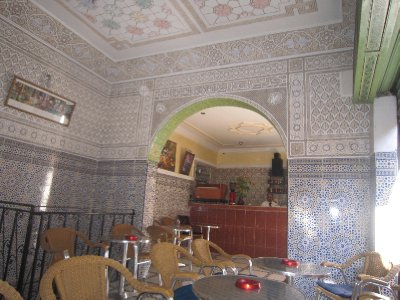 Teashop in Marrakesh