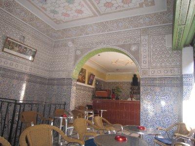 Teashop in Marrakesh