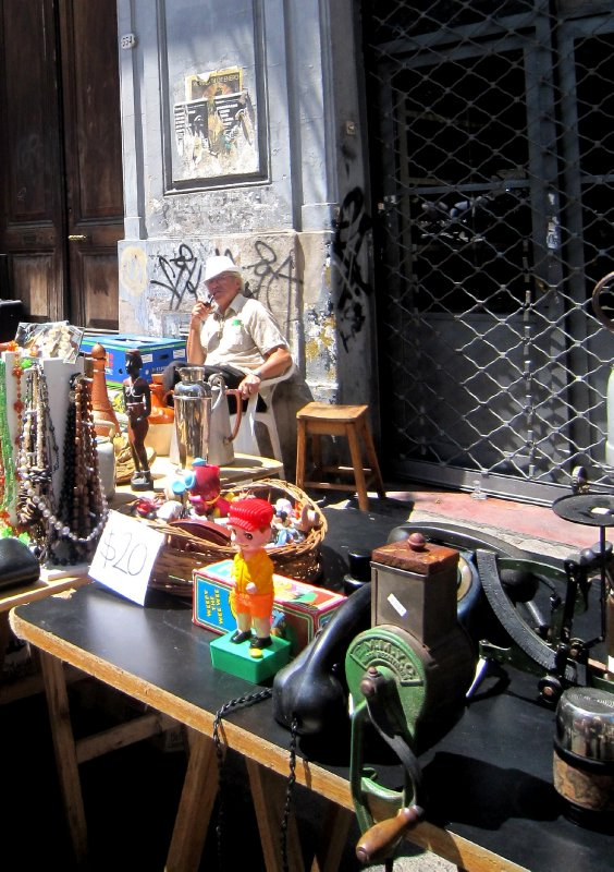 San Telmo Sunday market, Buenos Aires