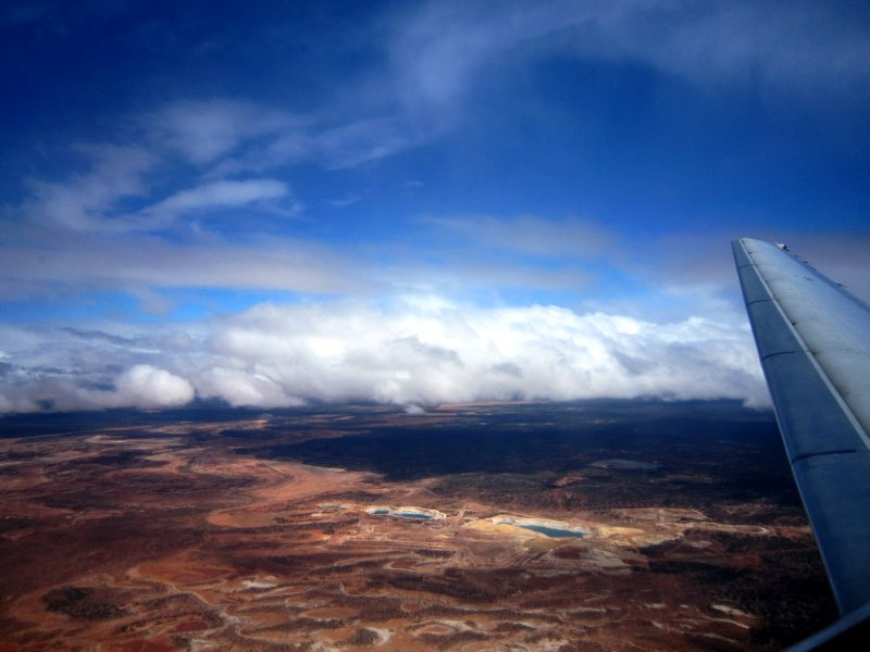 Just after take off from kalgoorlie, see how remote it is!