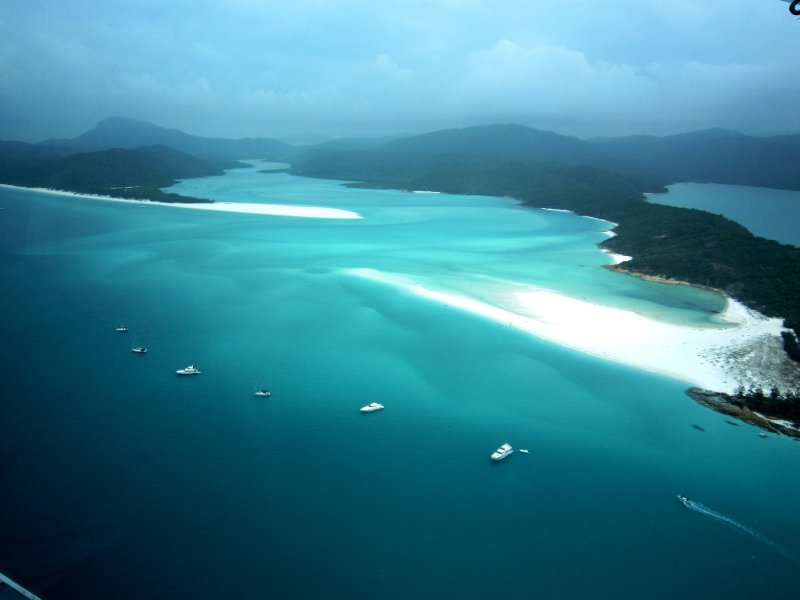 Whitsundays from the air