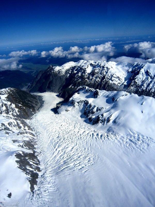 Top of Fox glacier