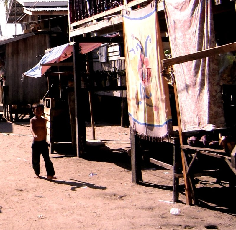 One of the villages on Mabul