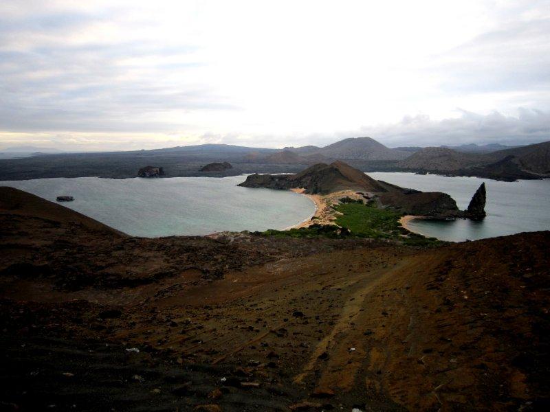 Isla Bartolome volcano trek