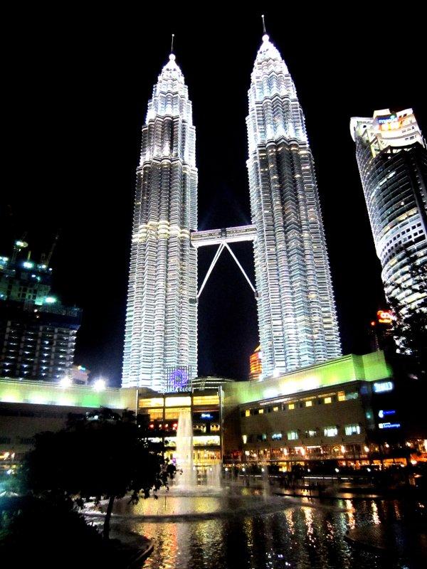 Final shot of Petronas towers, bye bye Malaysia