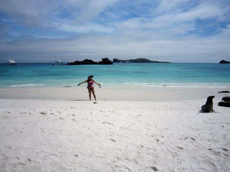Ling on Espanola island