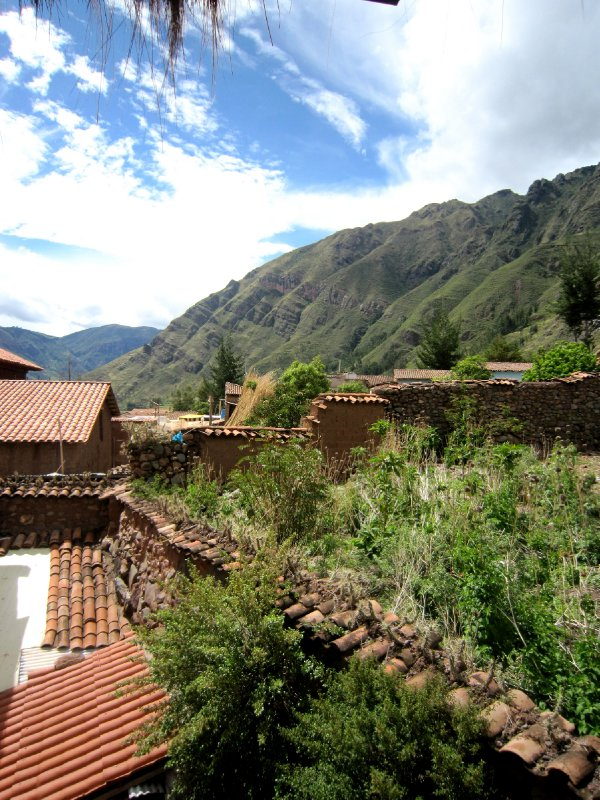 From the watchtower, Pisac