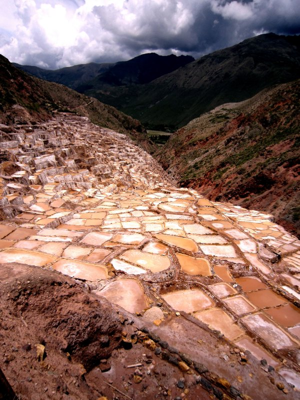 Moray Incan salt terraces