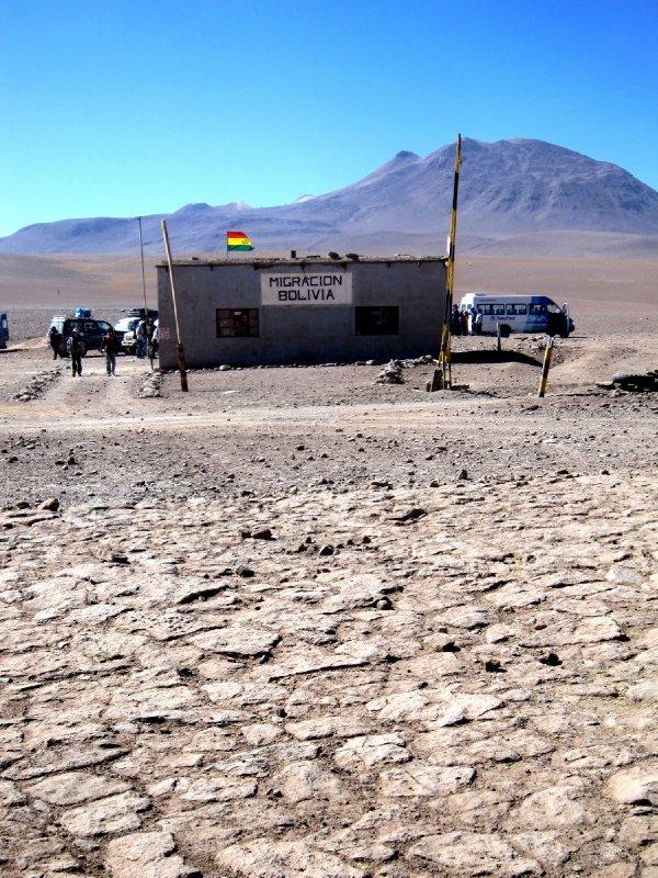 The Bolivian border crossing!