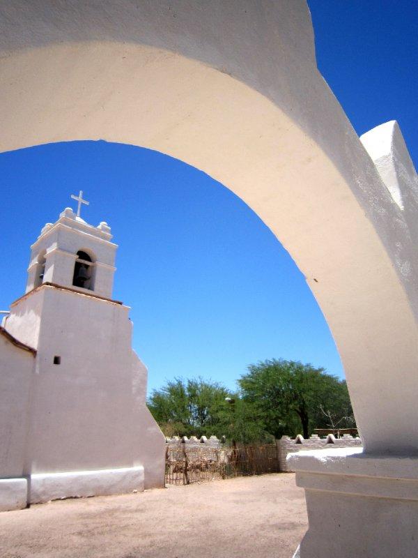 Beautiful church in San Pedro