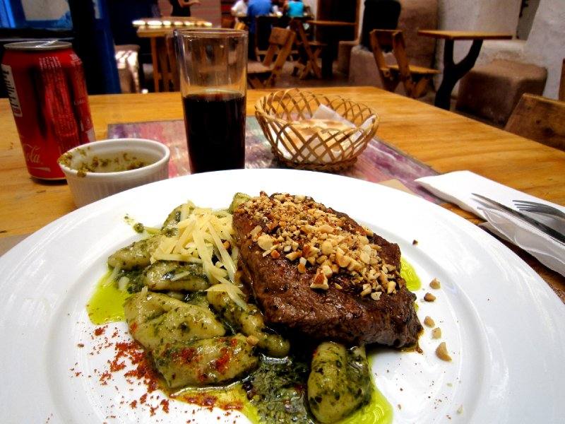 Fancy food in San Pedro