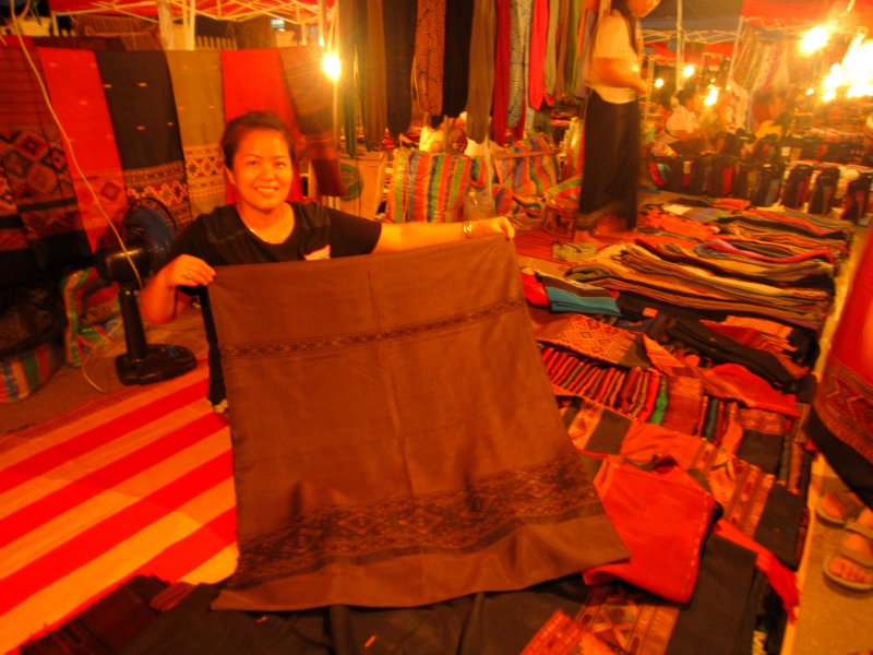 The silk to make my skirt