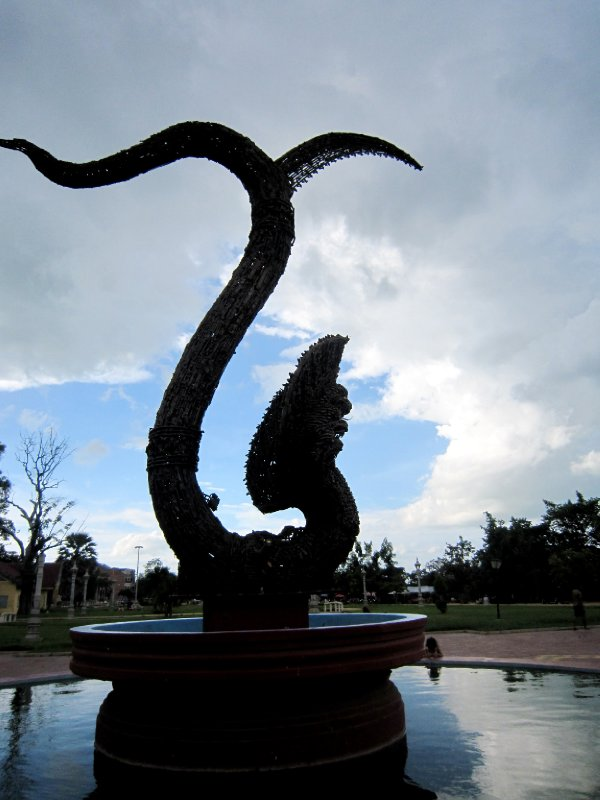 Naga peace monument