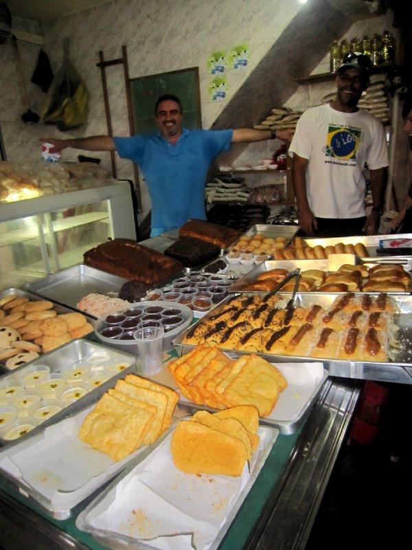 Home made cakes in Rocinha favela, Rio