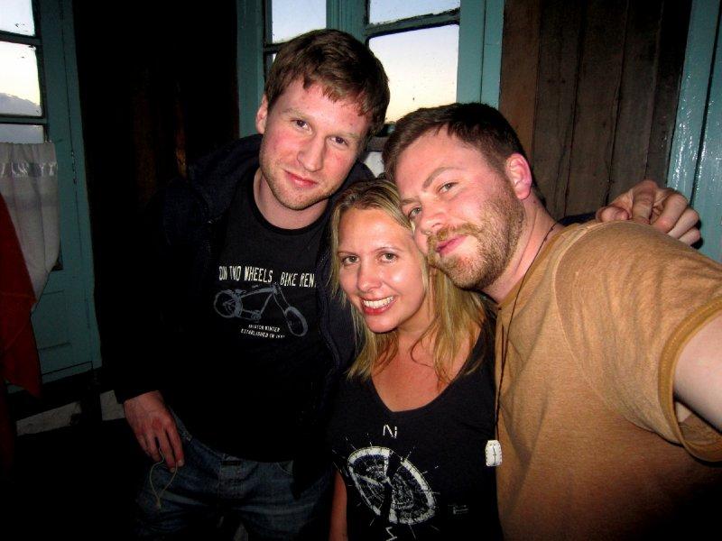 Awwwwww with Hendrik and Julian