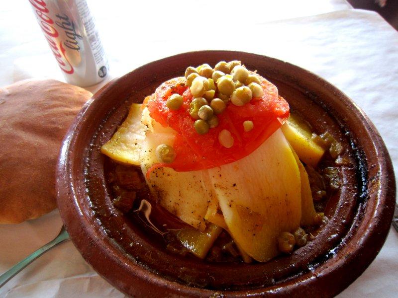 Lunch in Djamaa El Fna square