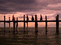 Amarapura U Bein's bridge