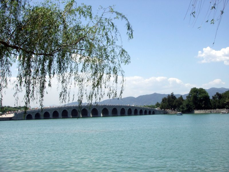 bridge at the summer palace