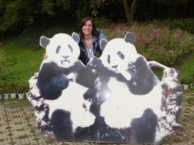 Posie and Plastic Pandas