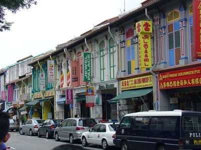 This picture we took on the streets of Little India