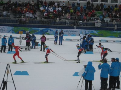 The first-lap of nordic combined
