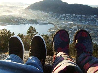 Looking down upon Bergen