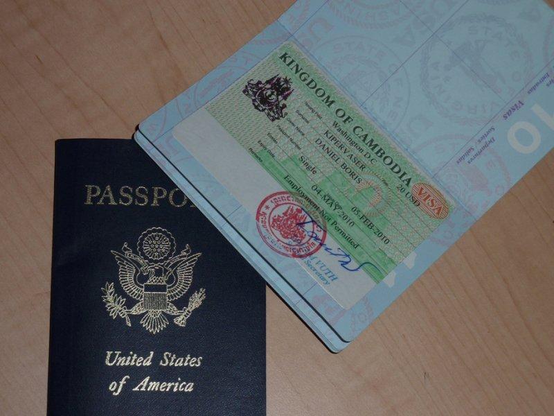 Cambodian Visa