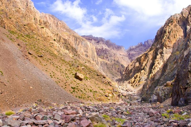 Podejście pod Przełęcz Ouanoums