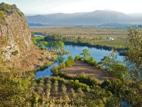 River Dalyan From Mountain Top