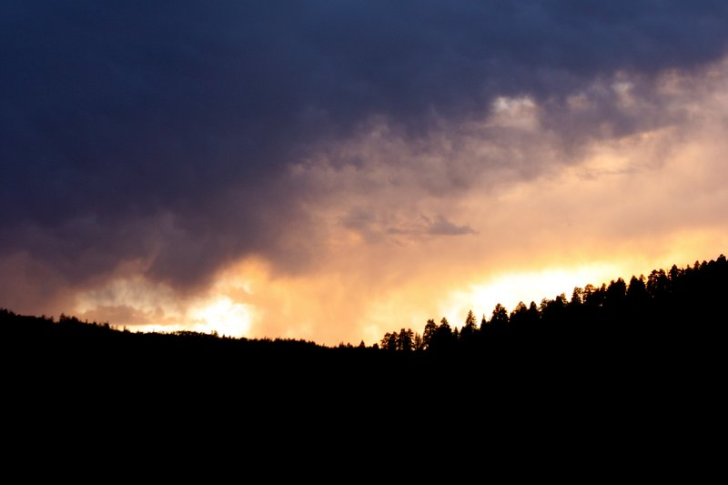 The Sun Sets over the Uintas