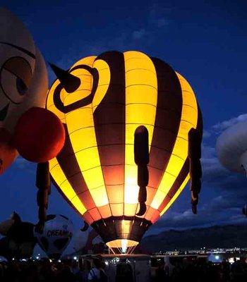 Albuquerque Balloon Fiesta 2017 Glowdeo
