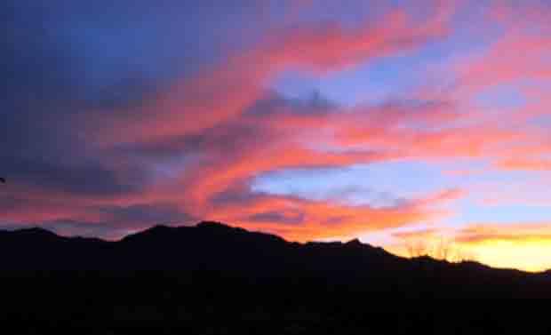 Sunset Mojave Preserve