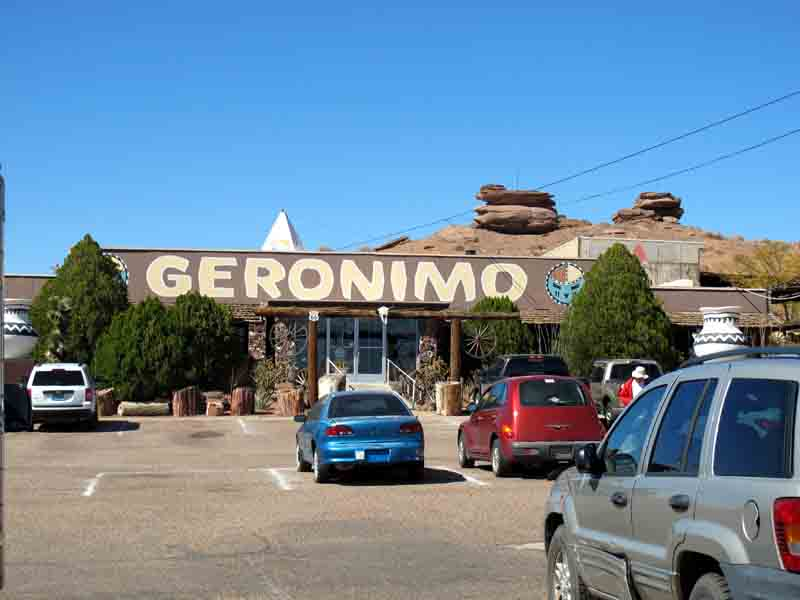 Geronimo Gift Shop