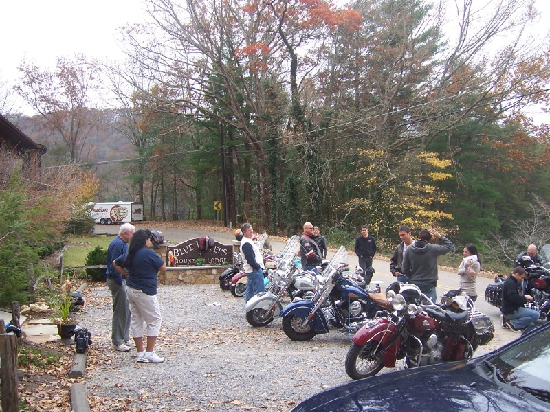 Good Morning America at Blue Waters Mountain Lodge