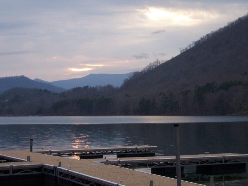 Sunsets on Lake Santeetlah