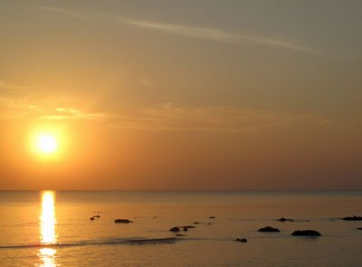 Sunset-logs