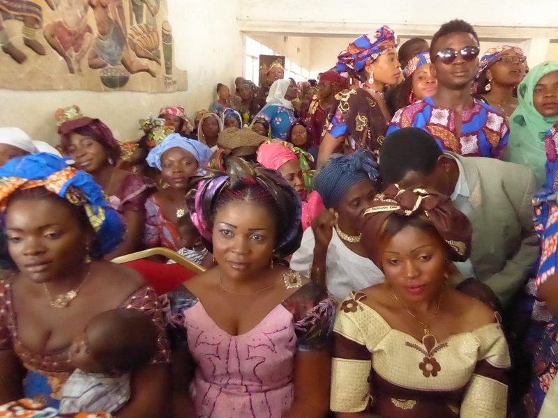 Wedding well-wishers