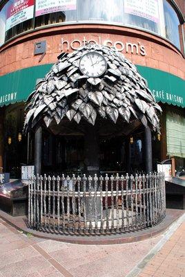 Ginza, Eingang zu einem Restaurant