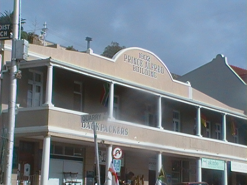 back packers in Simons town