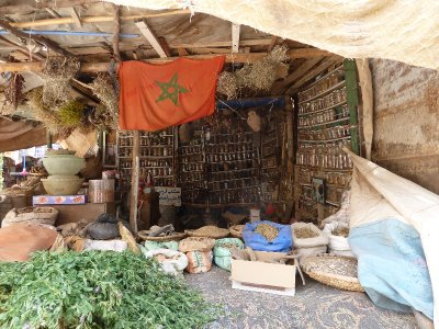 Spice store at Rissani Market