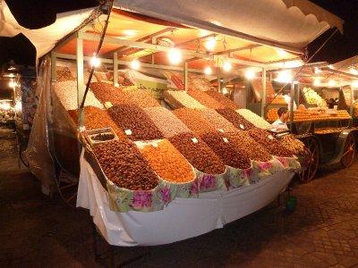 Fruits in Djem El Fnaa