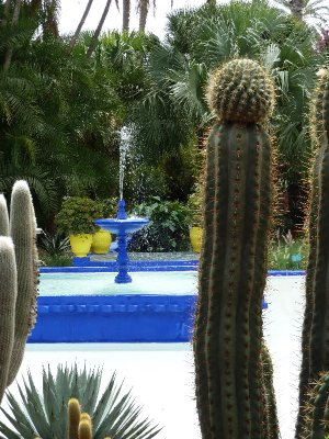 Majorelle fountain