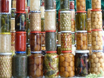 preserved vegies