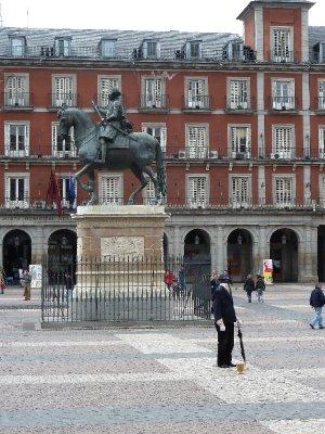 Headless man, Plaza Major