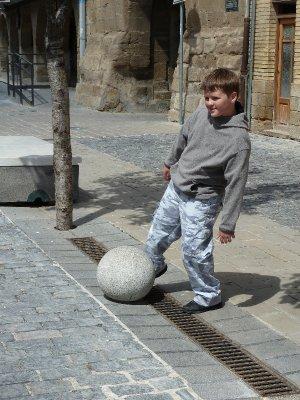 Medieval Soccer Practice