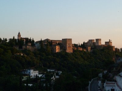 Alcazaba at sunset