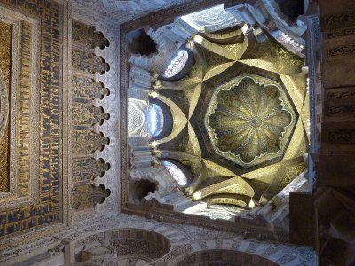 Mihrab ceiling