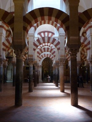 Arches In the Mezquita