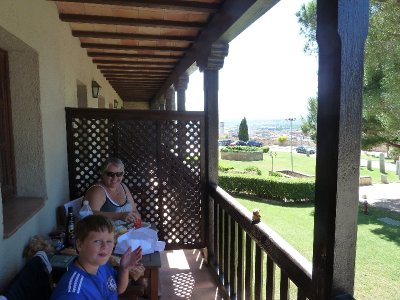 Lunch in Tortosa